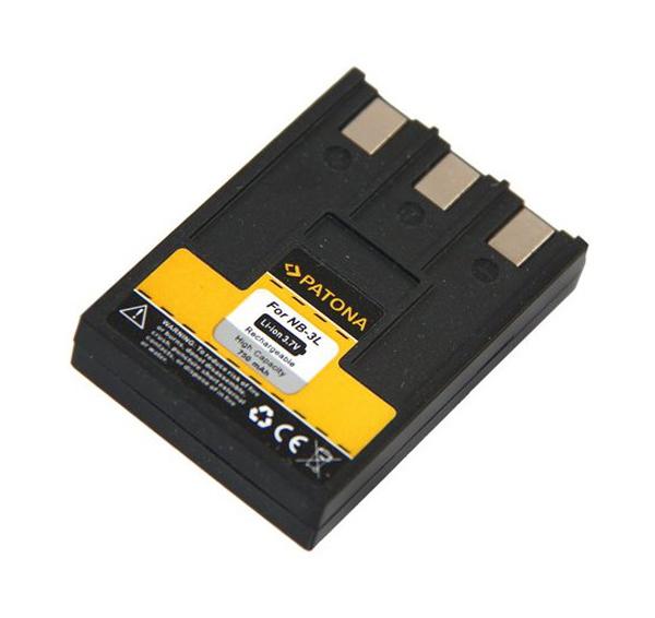 Batérie foto CANON NB-3L 750mAh PATONA PT1003