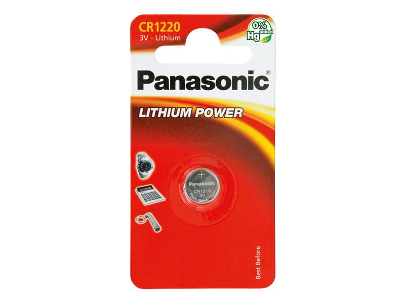 Baterie CR-1220 PANASONIC lithiová 1BP