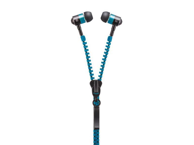 Slúchadlá do uší FOREVER ZIP modrá