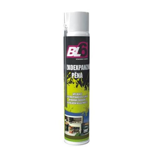 Pěna montážní BL6 nízkoexpanzní hobby - spray 750ml