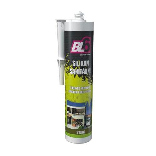 Silikon sanitární hobby BL6 bílý - kartuše 310ml