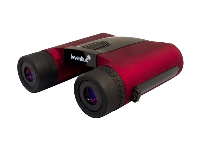Ďalekohľad binokulárne LEVENHUK RAINBOW 8x25 červená