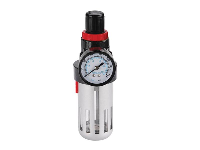 Regulátor tlaku so vzduchovým filtrom a manometrom, max. pracovný tlak 8bar (0,8MPa), EXTOL PREMIUM