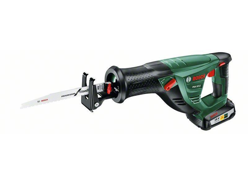 Pila ocaska Bosch PSA 18 LI - 1x aku 2,5Ah, čip SYNEON, 18V, 06033B2302 aku
