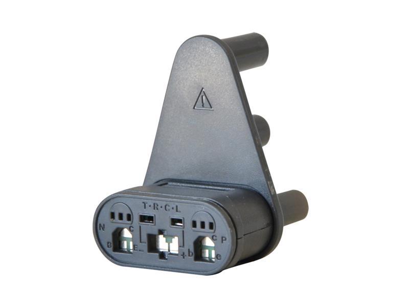 Adaptér UNI-T IV - klasické i SMD tranzistory + termočlánek