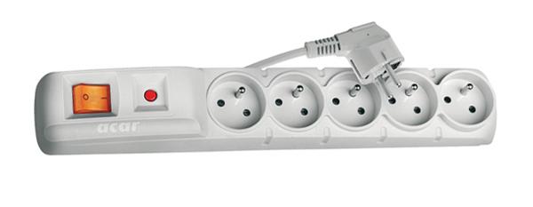 Prepäťová ochrana 5 zásuviek 3m F5