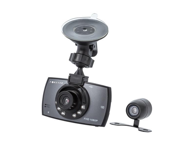 "Kamera do auta Full HD FOREVER VR-200, 2.7"" + zadné kamera"