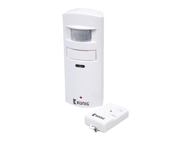 Detektor pohybu s alarmom 130 dB KÖNIG SAS-APR10