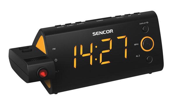 Rádiobudík SENCOR SRC 330 OR projekčný