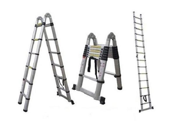 Rebrík/štafle hliníkový teleskopický G21 GA-TZ16-5M