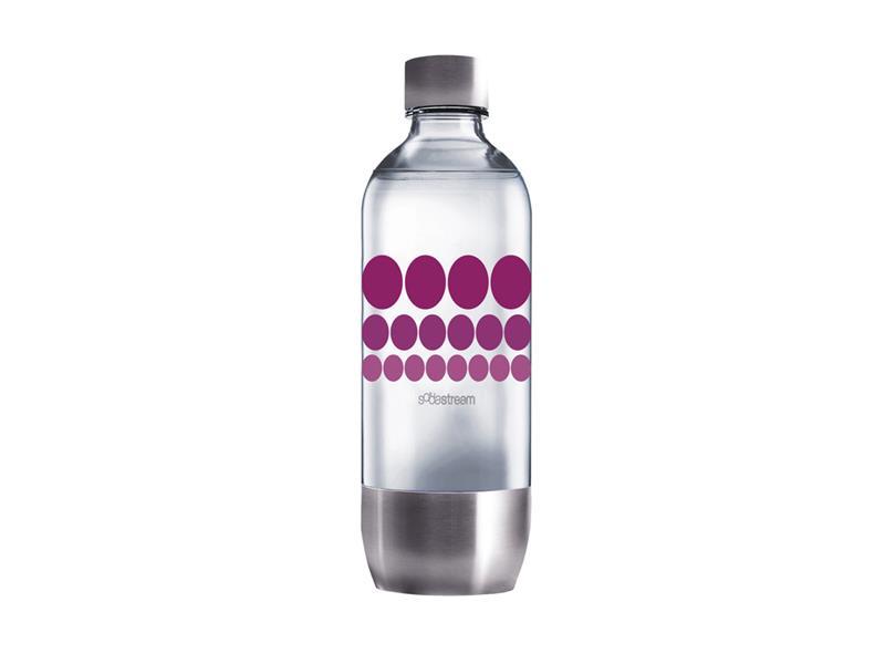 Sodastream fľaša 1l PURPLE METAL