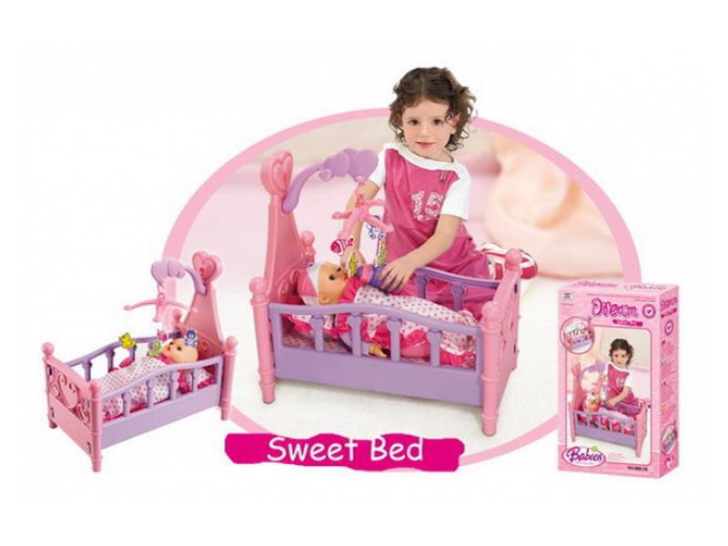 Postieľka pre bábiky G21 detská