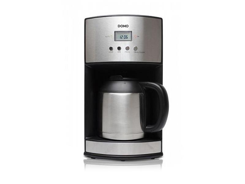 Kávovar s časovačom a termokanvicou - DOMO DO474KT