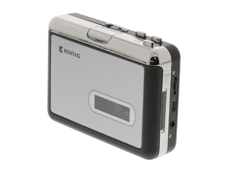 Konvertor USB kazetový KÖNIG HAV-CA10