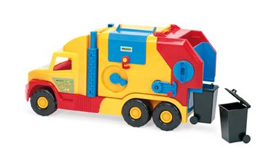 Auto detské WADER smetiarske s príslušenstvom