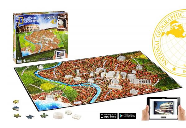 Puzzle 4D CITY STAROVEKÝ ŘÍM