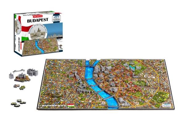 Puzzle 4D CITY BUDAPEŠŤ