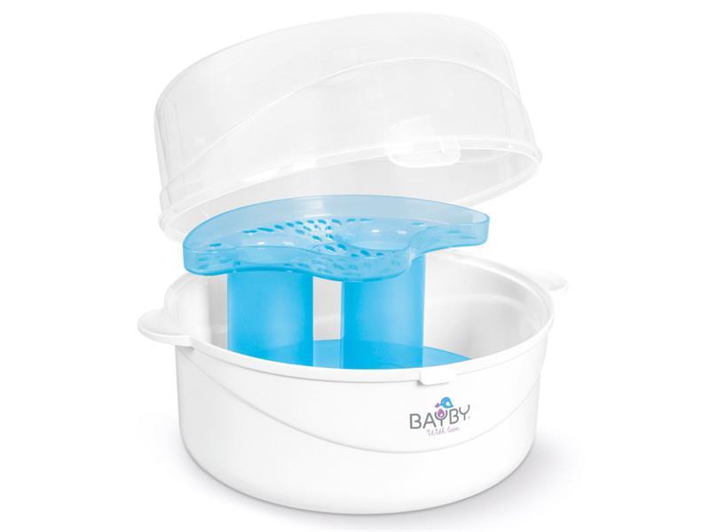 Sterilizátor kojeneckých lahví BAYBY do mikrovlnky BBS 3000