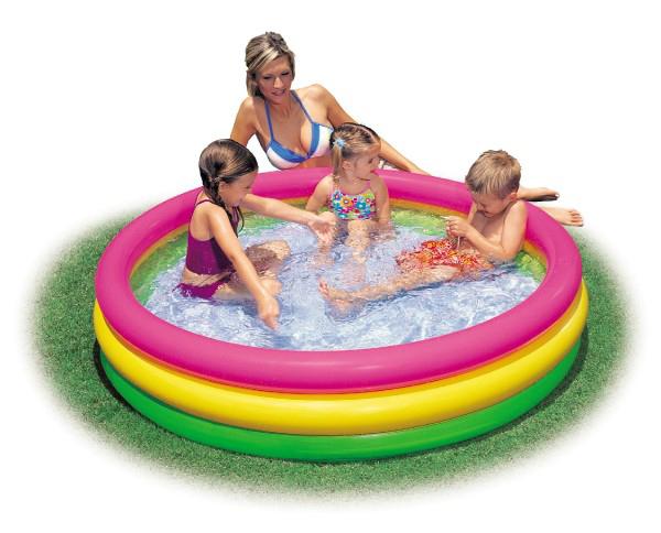 Bazén nafukovací 114 x 25 cm detský