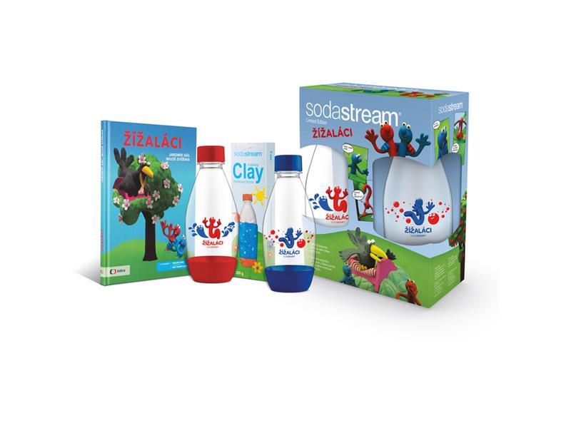 Sodastream sada Žížaláci dětský set 2 lahve + dárky