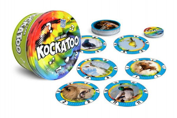 Hra kartové BONAPARTE KOCKATOO detská