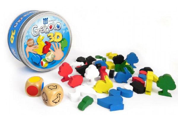 Hra kartové BONAPARTE GRABOLO 3D detská