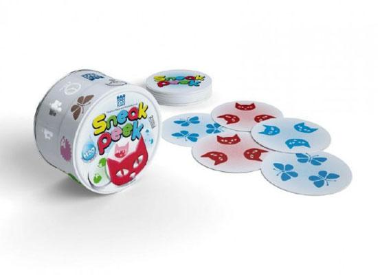 Hra kartové BONAPARTE GRABOLO SNEAK PEEK detská