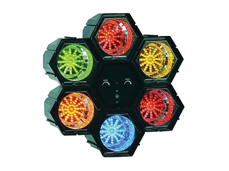 Efekt LED-6 barevná hudba
