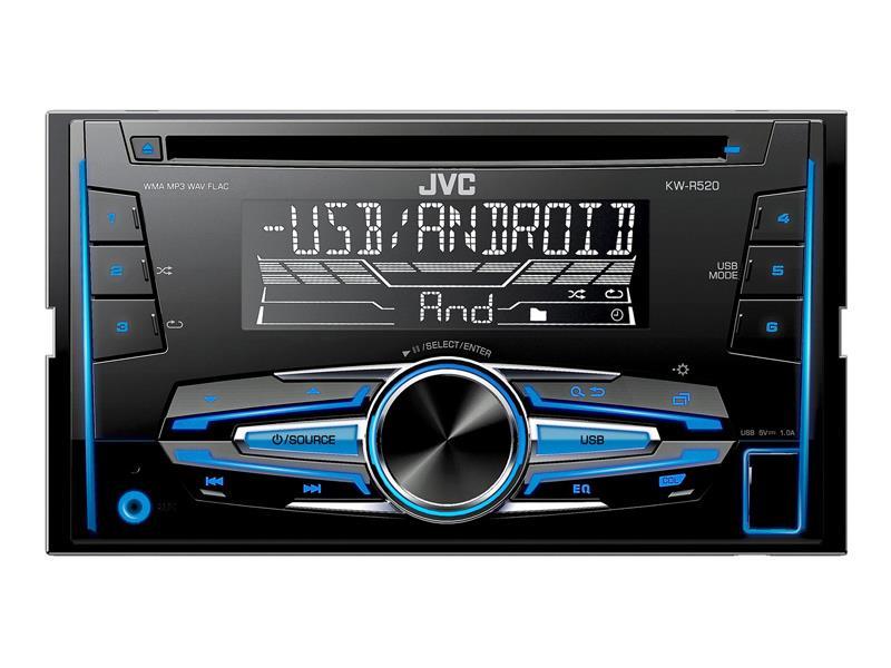 Autorádio JVC S CD KW R520 2DIN