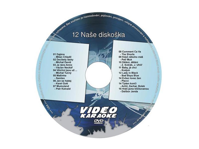 Karaoke DVD NAŠE DISKOŠKA