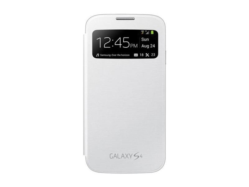 Samsung flipové pouzdro S-view EF-CI950BW pro Galaxy S4 (i9505), bílá - EF-CI950BWEGWW