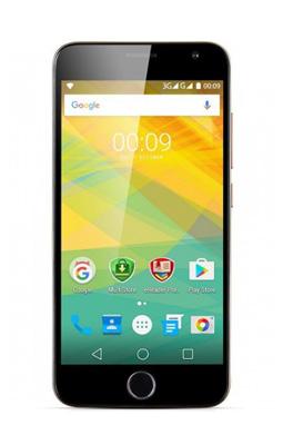 Telefon PRESTIGIO GRACE R7 zlatý