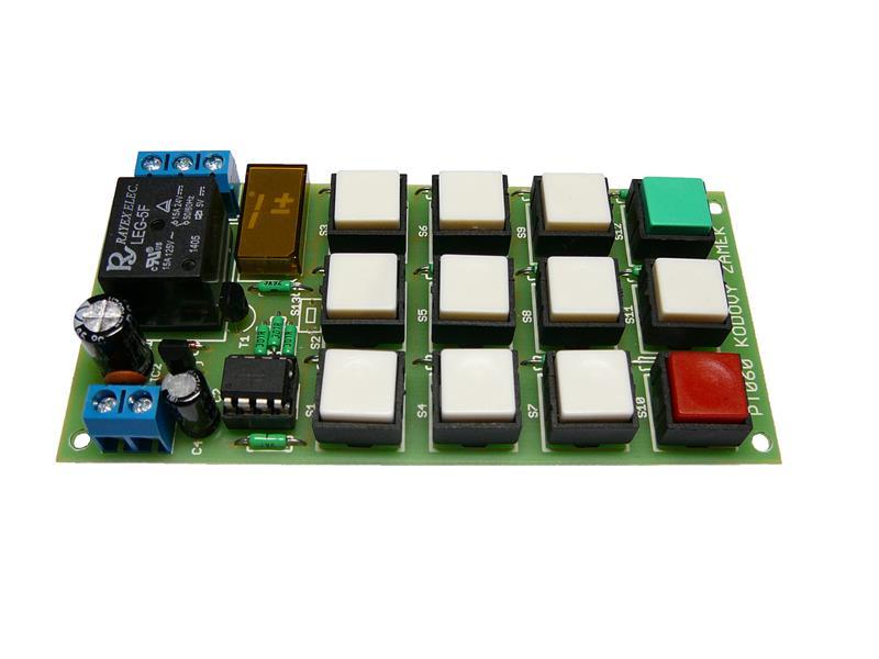 Stavebnica TIPA PT060 Kódový zamok