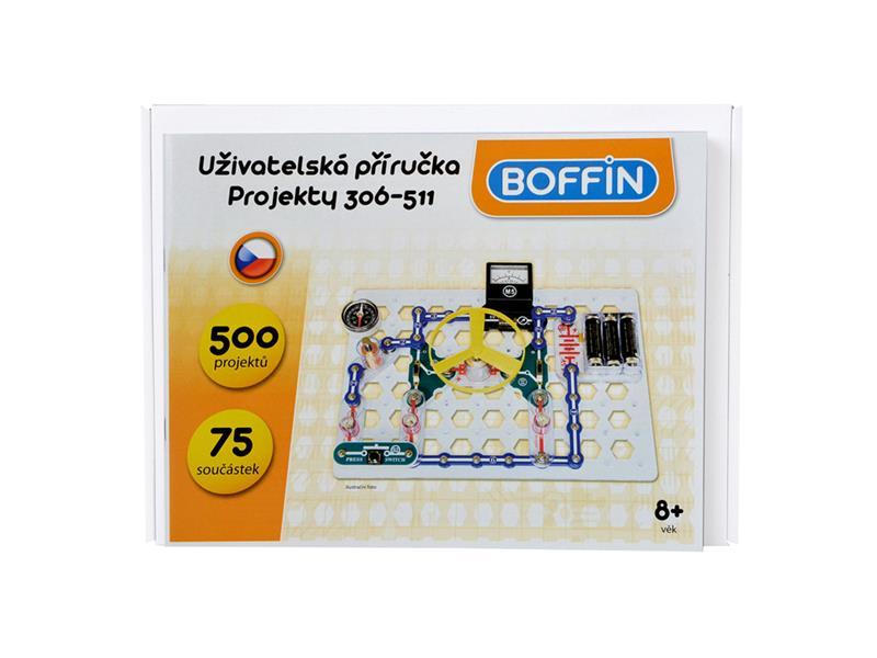 Stavebnica elektronická BOFFIN I 300 - rozšírenie na BOFFIN I 500