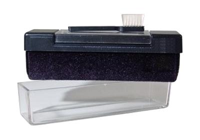 Zamatová kefka na čistenie vinylových platní