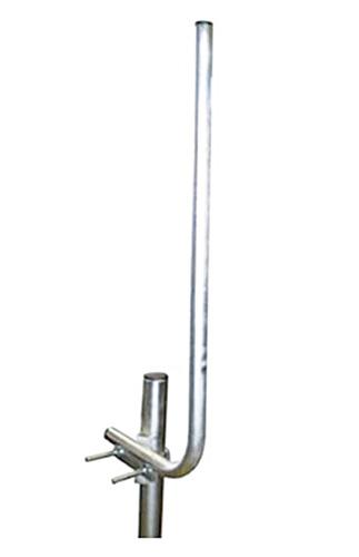 Anténny držiak sitá na stožiar s strmeňom priemer rúrky 28mm TPG výška 60cm
